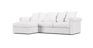 Gronlid Sofa With Chaise Lounge Cover Comfort Works