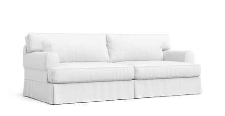 Round Arm Sofa Slipcover Off 64, Round Couch Slipcovers