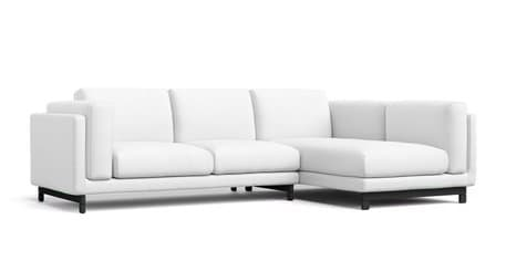 Nockeby 2 Seater and Chaise RIGHT Sofa Cover