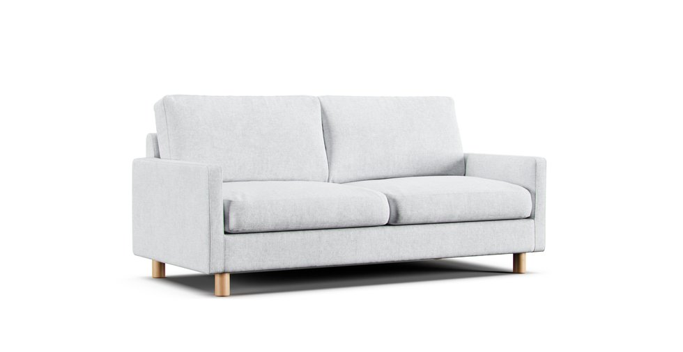 Magnificent 2 5 Seater Slim Arm Sofa Cover Comfort Works Alphanode Cool Chair Designs And Ideas Alphanodeonline