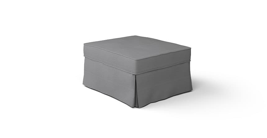 how to make a slipcover for a storage ottoman