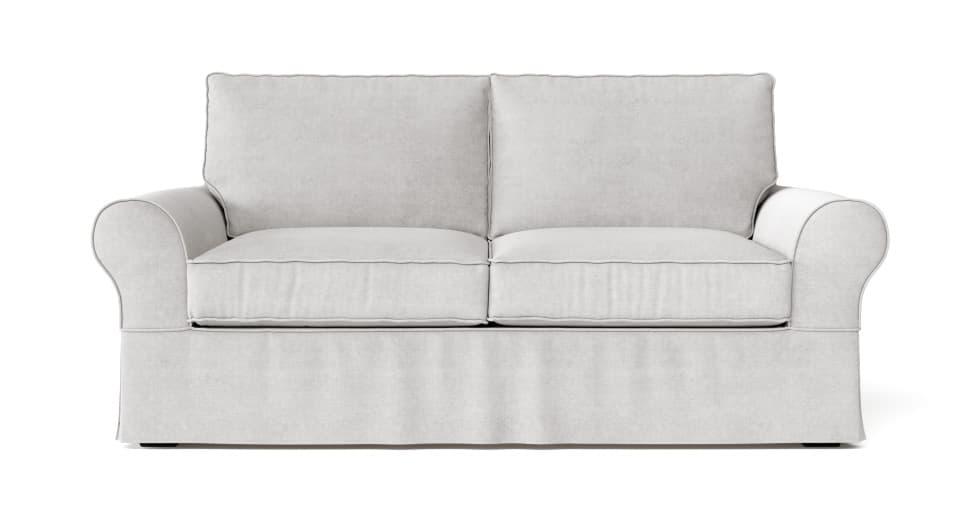 Pleasing Pb Comfort Roll Arm Sofa Slipcover Inzonedesignstudio Interior Chair Design Inzonedesignstudiocom