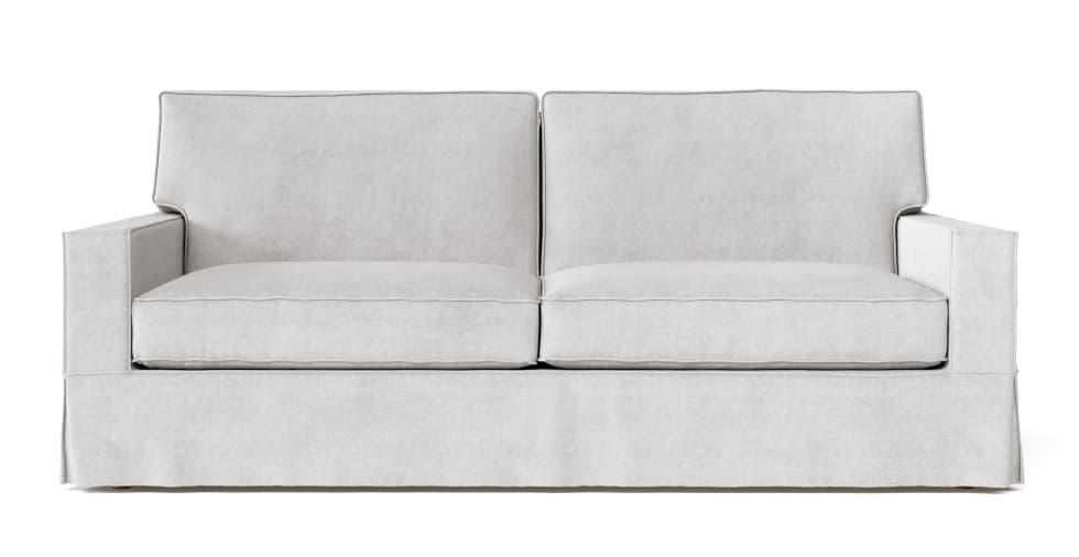 PB Comfort Square Arm Grand Sofa Slipcover