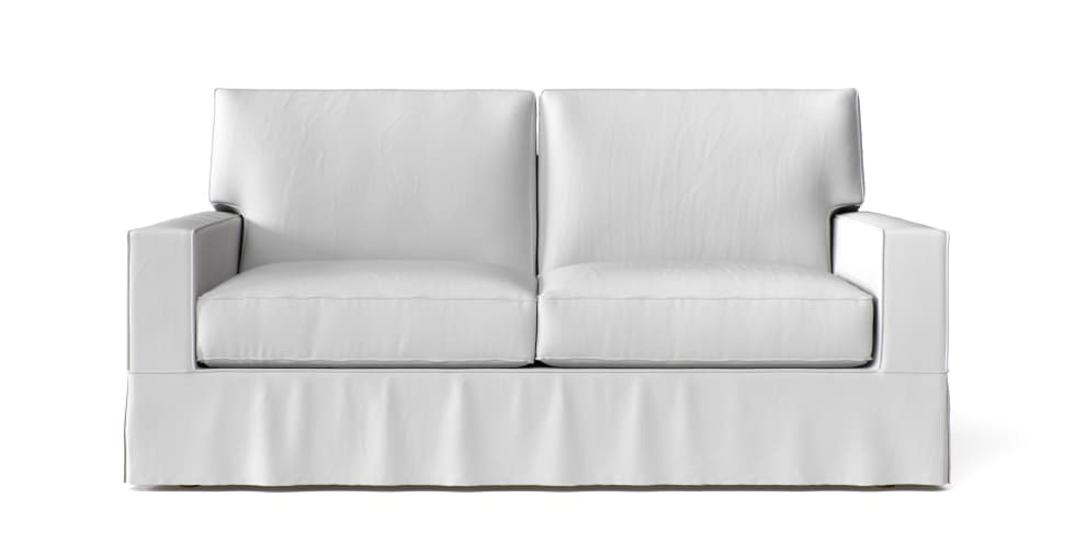 Pb Comfort Square Arm Sofa Slipcover