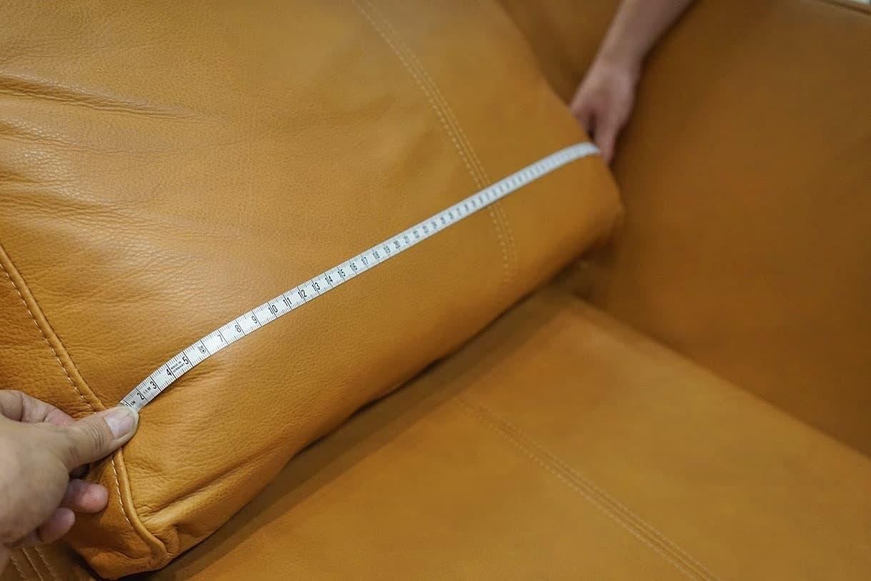 measuring cushion width
