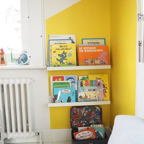 Our cute reading corner
