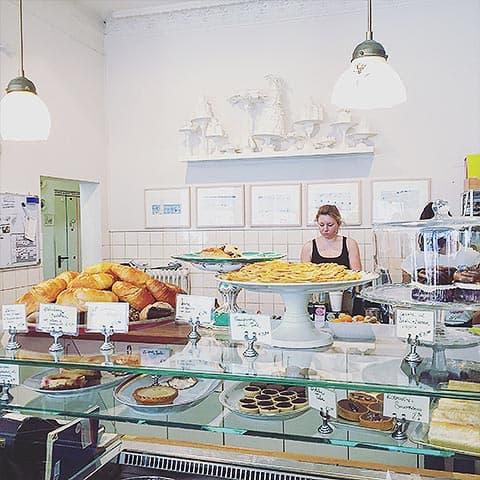Lokaler bäcker